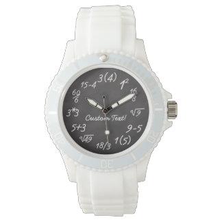 Math Geek Funny Equation Teacher/Engineer Women's Wrist Watch