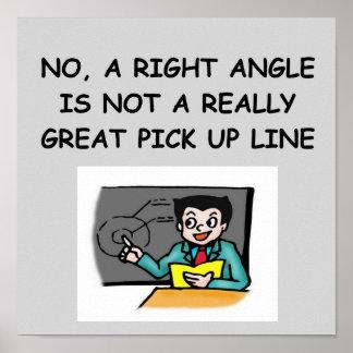 math geek joke poster