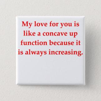 math geek love pick up line button