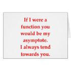 math geek love pick up line card