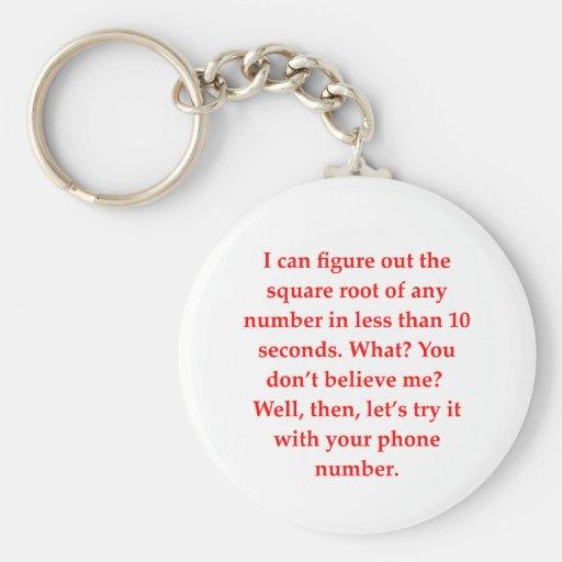 math geek love pick up line basic round button keychain