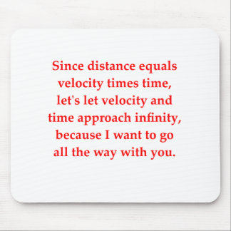 math geek love pick up line mouse pad