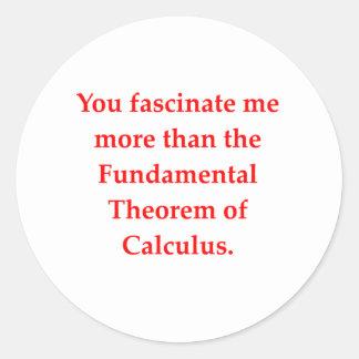 math geek love pick up line sticker