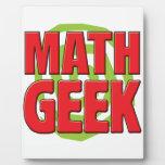 Math Geek Plaques