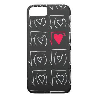 Math geek romance: find real love iPhone 8/7 case