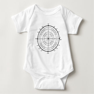 Math Geek Unit Circle Baby Bodysuit