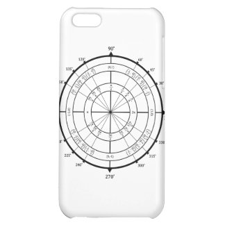 Math Geek Unit Circle Cover For iPhone 5C