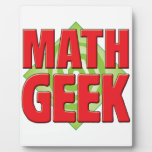 Math Geek v2 Photo Plaques