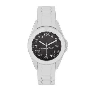 Math Geek Wrist Watches