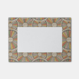 Math Geek's Vintage Multiplication Tables Post-it Notes