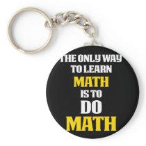 Math Gifts Math themed gift Do math Keychain