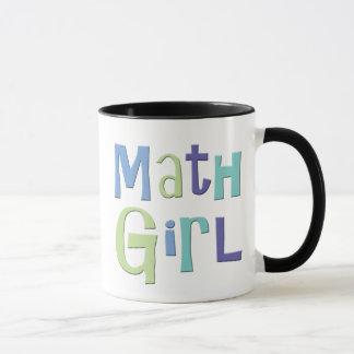 Math Girl Mug