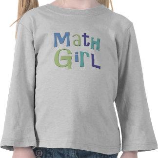 Math Girl Tshirts