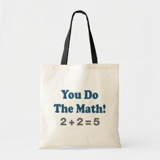 Math Humor Tote Bags