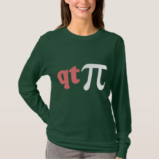 Math Humor - Cute Tee Pi