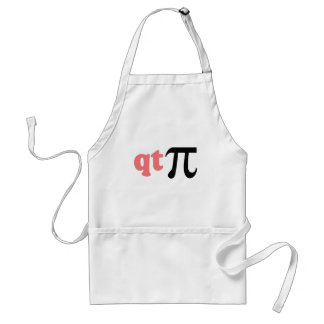 Math Humor - Cute Tee Pi Adult Apron