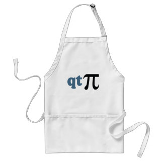 Math Humor - Cute Tee Pi Apron