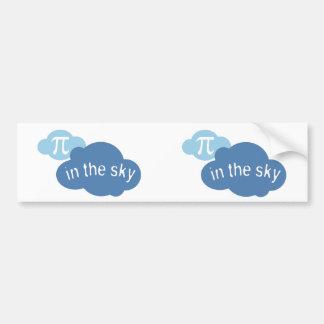Math Humor Pi in the Sky! Bumper Sticker
