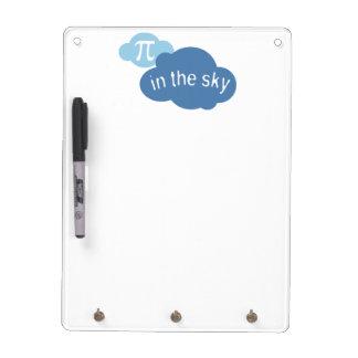 Math Humor Pi in the Sky! Dry Erase Boards
