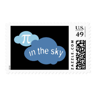 Math Humor Pi in the Sky! Postage