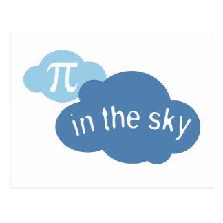 Math Humor Pi in the Sky! Postcard