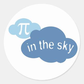 Math Humor Pi in the Sky! Sticker