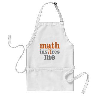 Math InPIres Me Adult Apron
