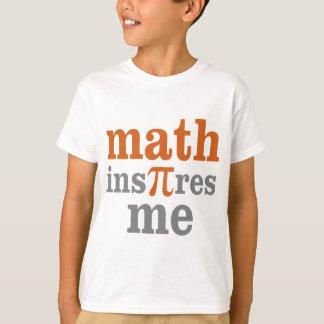 Math InPIres Me T-Shirt