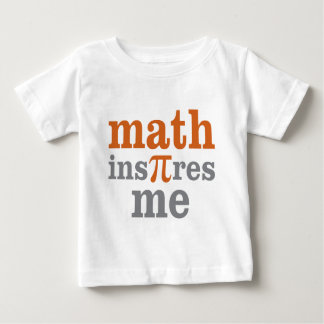 Math Inspires Me Infant T-shirt