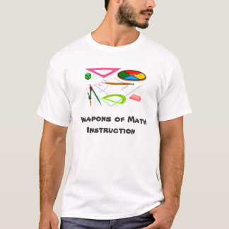 math instruction t-shirt