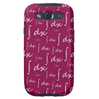 Math integral Network - Integral Mathematics Red Galaxy S3 Cover