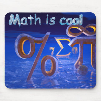 Math is Cool Mouse Pad