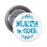 Math is Cool Pinback Button