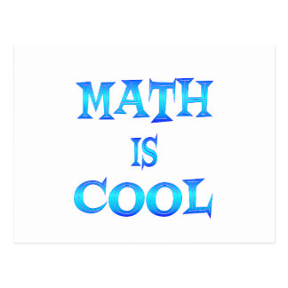 Math is Cool Postcard