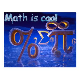 Math is Cool Postcard