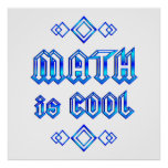Math Is Cool Posters