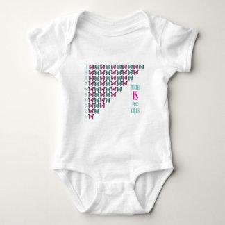 Math Is For Girls, I Love Math, Inspirational T-shirt