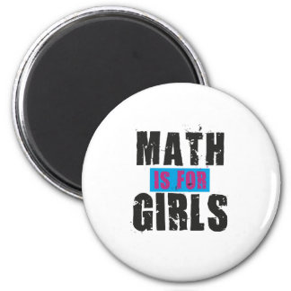 Math is for girls magnet