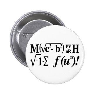 Math is Fun! 2 Inch Round Button