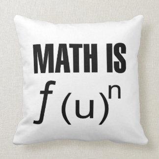 Math Is Fun Pillow