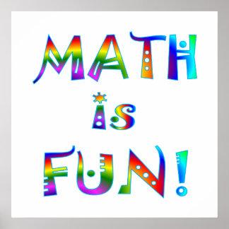 Math is Fun Poster