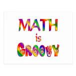 Math is Groovy Postcard
