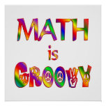 Math is Groovy Posters