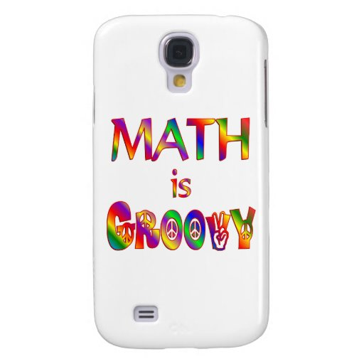 Math is Groovy Samsung Galaxy S4 Covers