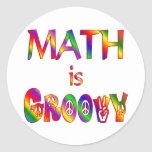 Math is Groovy Stickers