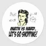 Math is hard stickers