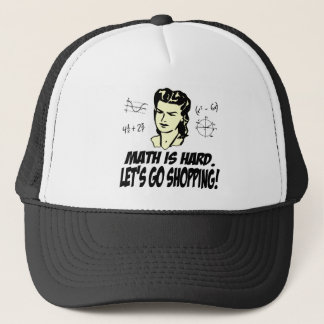 Math is hard trucker hat
