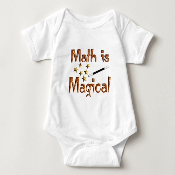 Math is Magical Baby Bodysuit