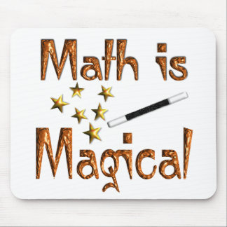 Math is Magical Mouse Mats