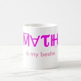 MATH IS MY BESTIE mug